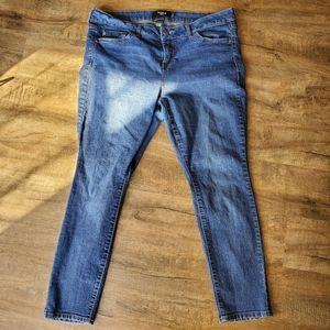 Torrid Size 18S Blue Skinny Jeans